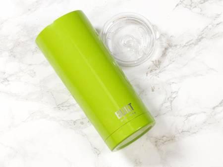 BUILT Vacuum Insulated Tumbler - Stalowy kubek termiczny z izolacją próżniową 600 ml (Green)