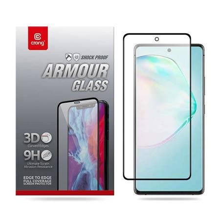 Crong 3D Armour Glass – Szkło hartowane 9H na cały ekran Samsung Galaxy A91 / S10 Lite