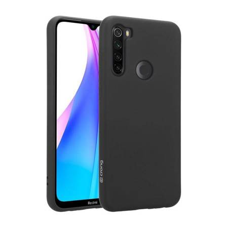 Crong Color Cover - Etui Xiaomi Redmi Note 8T (czarny)