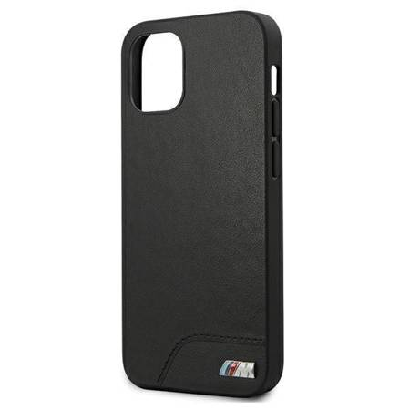 "Etui BMW BMHCP12SMHOLBK iPhone 12 mini 5,4"" czarny/black hardcase M Collection Smooth PU"