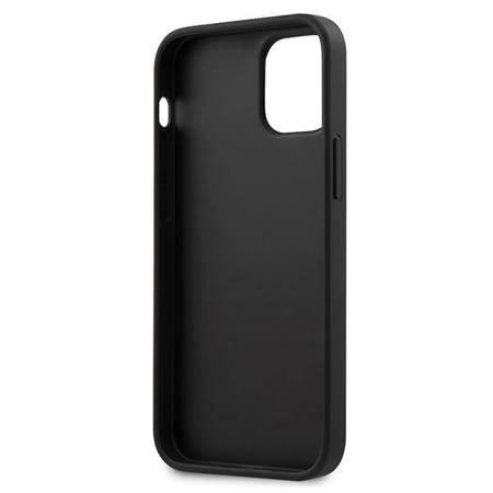 Guess Saffiano V - Etui iPhone 12 Mini (różowy)
