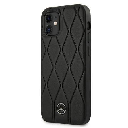 "Mercedes MEHCP12SMULBK iPhone 12 mini 5,4"" czarny/black hardcase Wave Line"