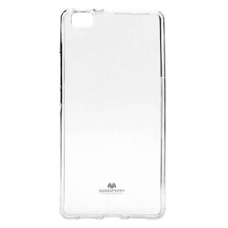 Mercury Transparent Jelly - Etui Huawei P8 Lite (przezroczysty)