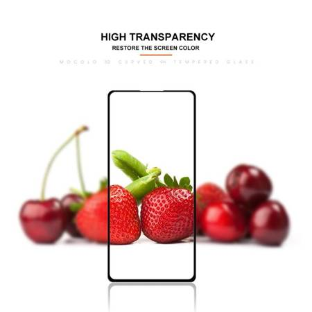 Mocolo 3D 9H Full Glue - Szkło ochronne na cały ekran Samsung Galaxy A71 / Note 10 Lite (Black)