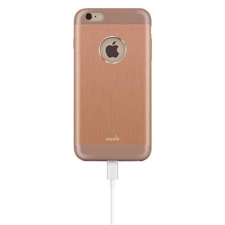 Moshi iGlaze Armour - Etui aluminiowe iPhone 6s Plus / iPhone 6 Plus (Sunset Copper)