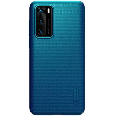 Nillkin Super Frosted Shield - Etui Huawei P40 (Peacock Blue)