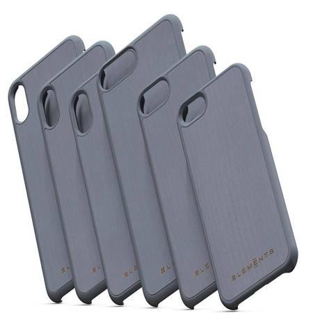 Nordic Elements Original Gefion - Drewniane etui iPhone Xs Max (Mid Grey)