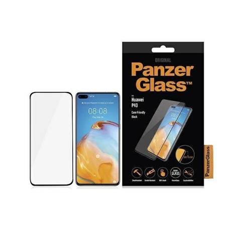PanzerGlass E2E Super+ Huawei P40 Case Friendly czarny/black