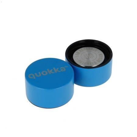 Quokka Solid -  Butelka termiczna ze stali nierdzewnej 510 ml (Bright Blue)(Powder Coating)