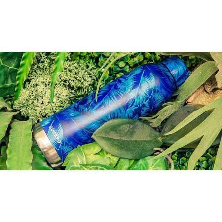 Quokka Solid - Butelka termiczna ze stali nierdzewnej 510 ml (Lime)