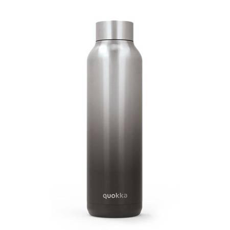 Quokka Solid - Butelka termiczna ze stali nierdzewnej 630 ml (Umbra)