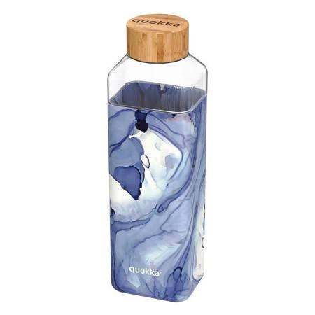 Quokka Storm -  Butelka na wodę ze szkła 700 ml (Liquid)