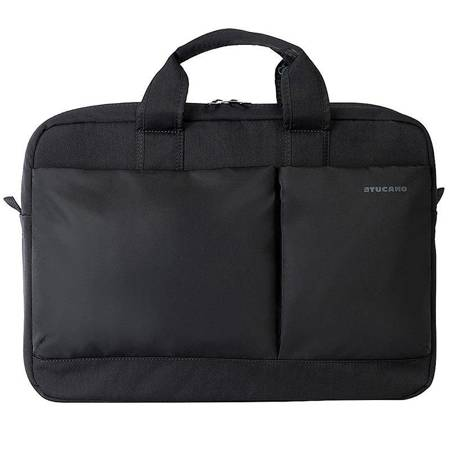 Tucano Piu Bag - Torba MacBook Pro 15 Retina & notebook 15.6 / ultrabook 15.6 (czarny)