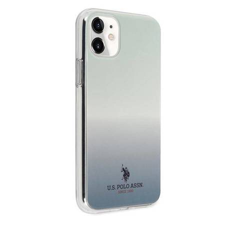 US Polo USHCN61TRDGLB iPhone 11 niebieski/blue Gradient Pattern Collection