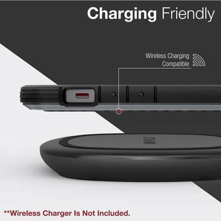 X-Doria Raptic Lux - Etui aluminiowe iPhone 12 / iPhone 12 Pro (Drop test 3m) (Black Carbon Fiber)