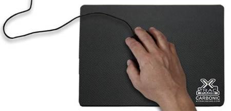 XTracGear Carbonic - Podkładka pod mysz (280 x 216 mm)